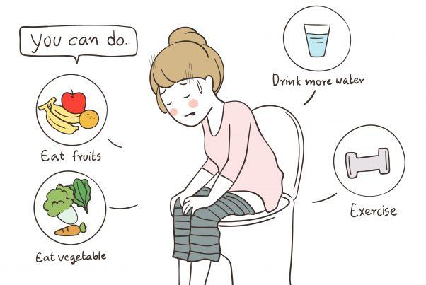 便秘を解消するためには、どんな食べ物や飲み物を摂ればいい?