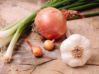 ねぎ、にんにく、たまねぎはビタミンB2を摂るのに最適な野菜